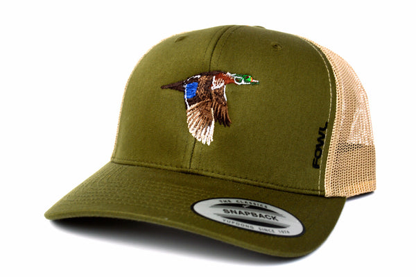 FOWL Wood Duck Snapback  (More Color Options) - fowl