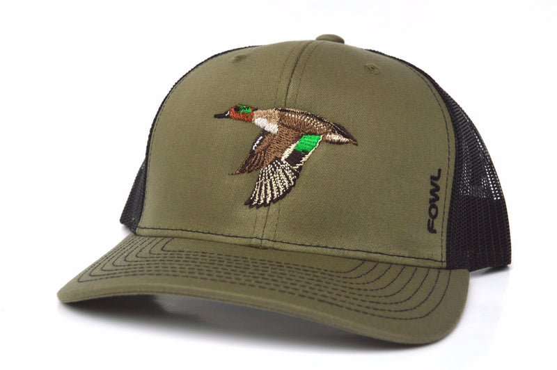 Green Winged Teal Collection  (More Color Options) - fowl