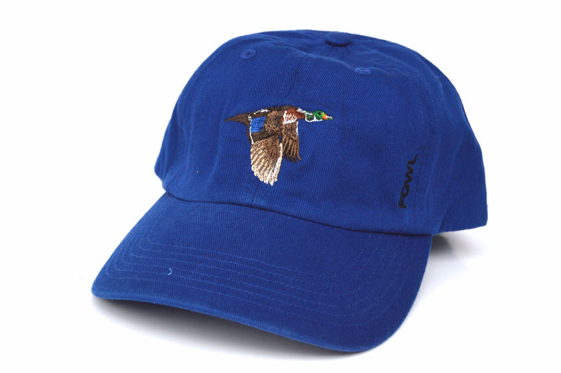Washed Hat Collection Royal Wood Duck - fowl
