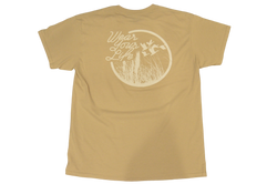 FOWL Wear Your Life Shirt X Brown/Khaki Mallard - fowl