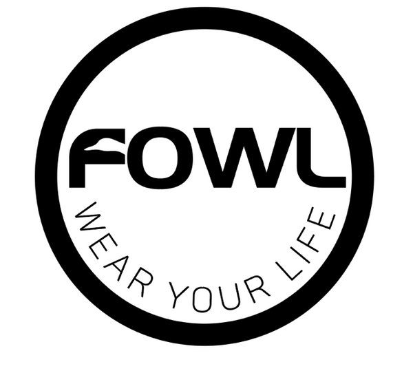 FOWL Decal Wear Your Life 4 Inch - fowl