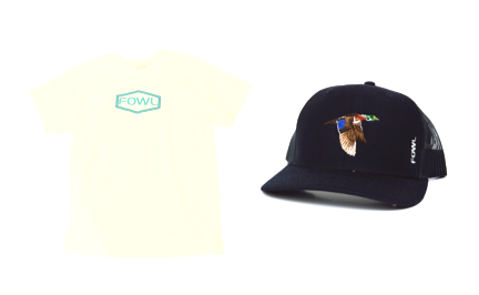 FOWL Hexagon Shirt X Navy Wood Duck Bundle - fowl