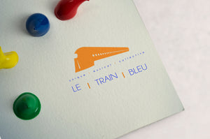Logo Le Train Bleu