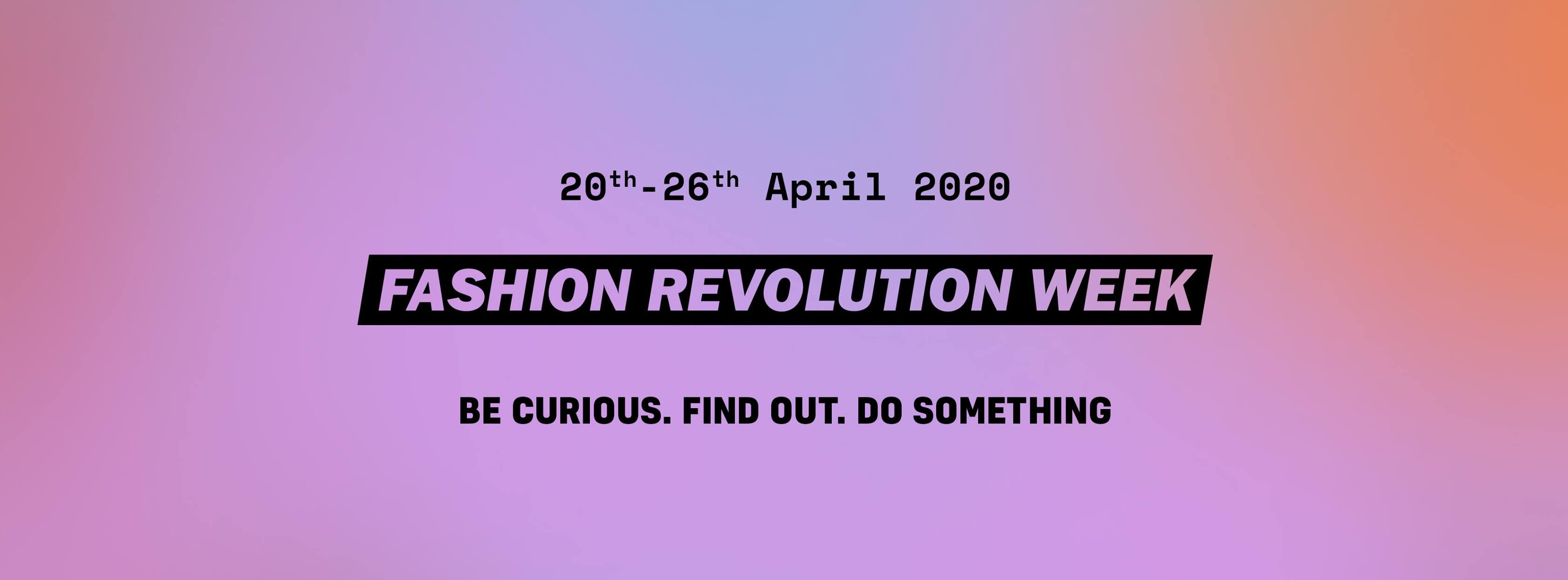 Fashion Revolution Week in Poland logo
