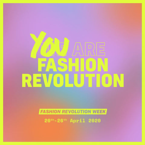 banner fashion revolution
