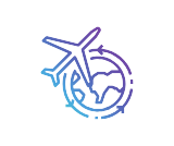 free delivery earth plane symbol