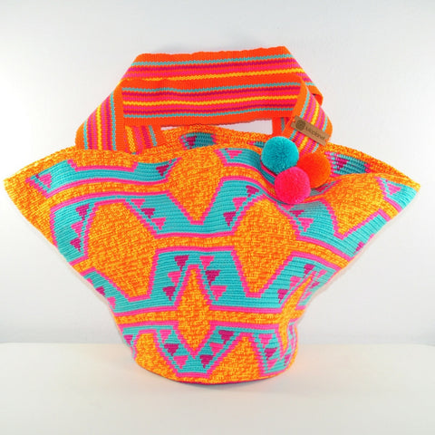 wayuu bucket bag tote bag shoulder bag beach bag