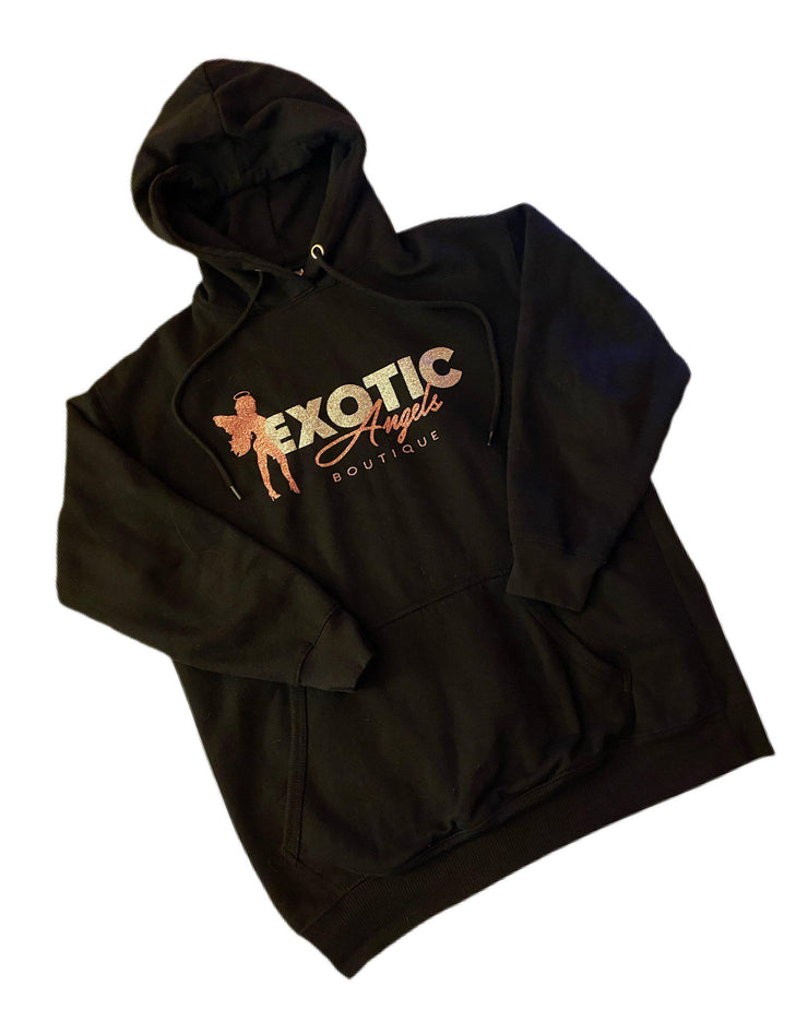 Exotic Angels Boutique Bling Hoodie (Unisex Sizing)-Exotic Angels Boutique-Exotic Angels Boutique