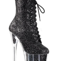 "7"" Platform Glitter Ankle Boot - Exotic Angels Boutique"