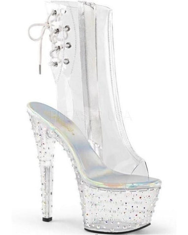 "7"" Platform Ankle Boot-Pleaser-Exotic Angels Boutique"
