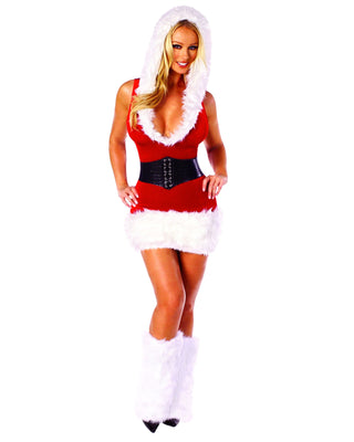 Two Piece Santa's Model Costume-Roma Costume-Exotic Angels Boutique