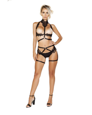 Open Cage Two Piece Set-Roma Costume-Exotic Angels Boutique