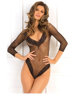Fishnet Bodysuit-Rene Rofe-Exotic Angels Boutique
