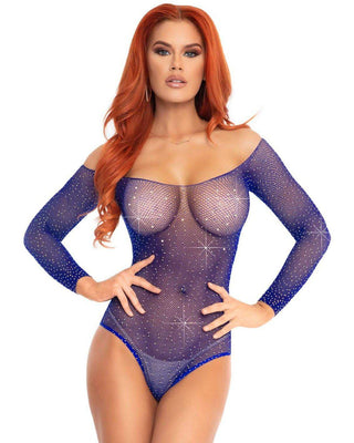 Bling Net Bodysuit-Elegant Moments-Exotic Angels Boutique