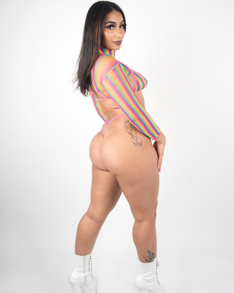 Raving Rainbow Set-Stripperfitz-Exotic Angels Boutique