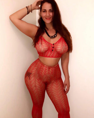 Red Diva Cami & Legging Set-Elegant Moments-Exotic Angels Boutique
