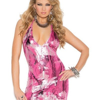 Multicolor And Metallic Minidress-Elegant Moments-Exotic Angels Boutique