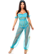 Four Piece Persian Princess Costume-Daisy Corsets-Exotic Angels Boutique