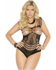 Plus Size Crotchet Teddy-Elegant Moments-Exotic Angels Boutique