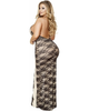 Plus Size Two Tone Gown-Roma Costume-Exotic Angels Boutique