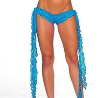 Ribbon Tie Lace Short - Exotic Angels Boutique