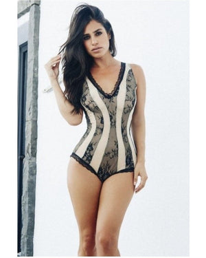 Two Tone Romper-Roma Costume-Exotic Angels Boutique