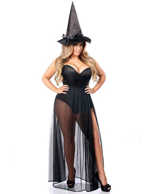 Three Piece Evil Witch Costume-Daisy Corsets-Exotic Angels Boutique