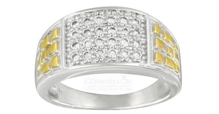 Buy Cubic Zirconia Men's Rings For Party Wear Now