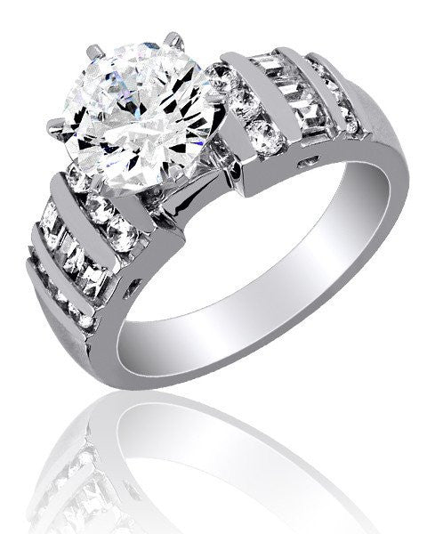 Celebrate every occasion with Cubic Zirconia rings and earrings