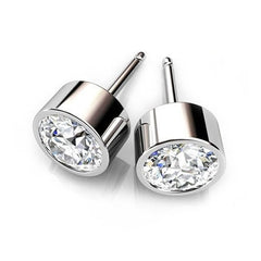 Get an aesthetic look this party with Cubic Zirconia Stud Earrings