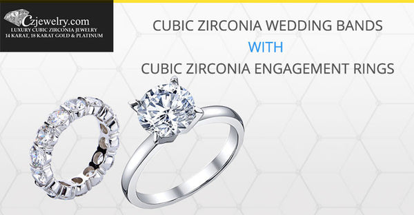 Cubic Zirconia Engagement Earrings