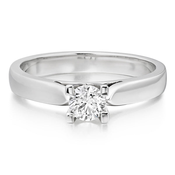6 Prong Solitaire Tiffany Rings 2mm band