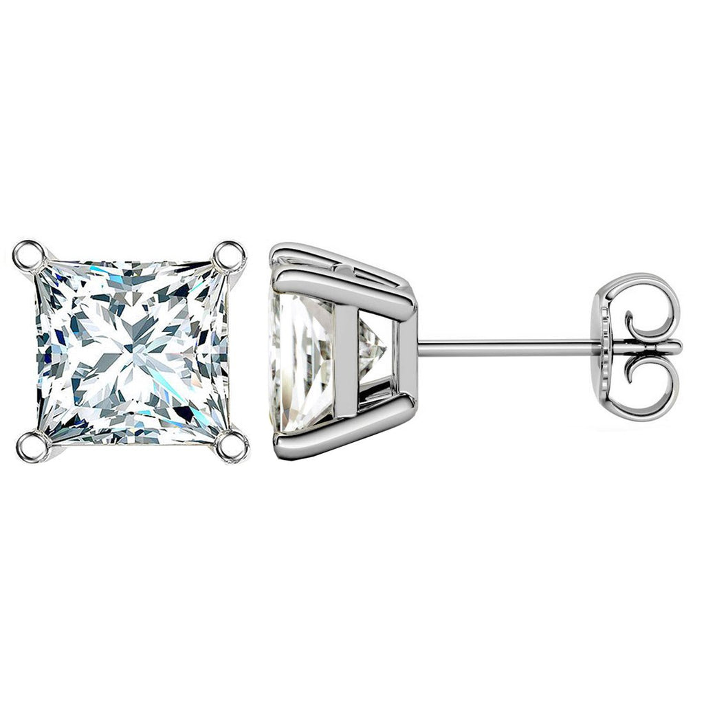 14 KARAT WHITE GOLD PRINCESS 1.00 C.T.W