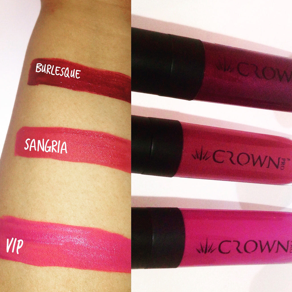 Vibrate lip stains that last at Minority Beauty