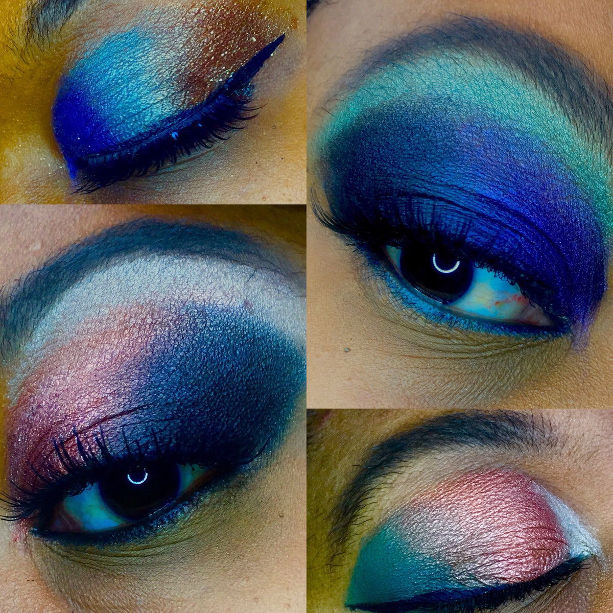 Eyeshadow looks