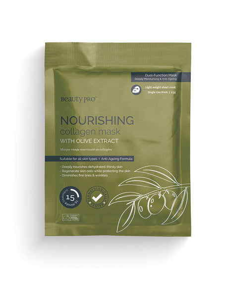 Nourishing collagen mask, Facial Mask  - MinorityBeauty