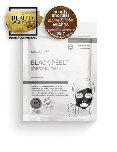 Duo Pack -  BlackPeel Charcoal mask, Facial Mask  - MinorityBeauty
