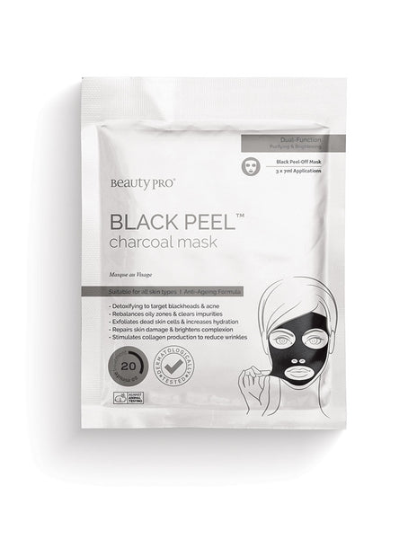 BlackPeel Charcoal mask, Facial Mask  - MinorityBeauty