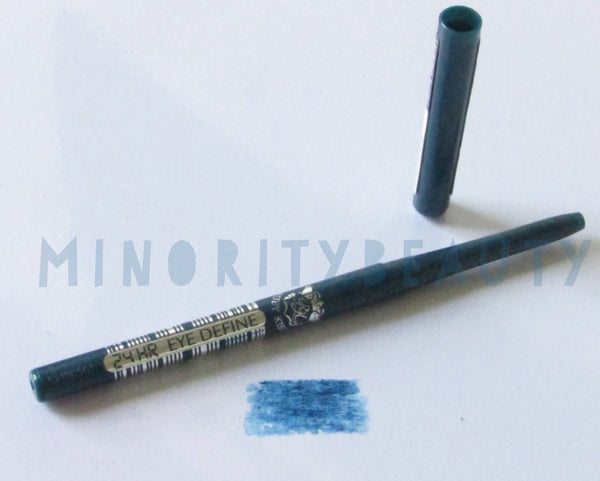 24hr Eye Define Eyeliner - Rich Teal Blue, Eyeliner  - MinorityBeauty