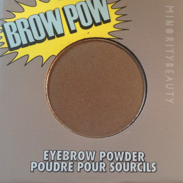 Dark Brown Brow Pow, Eyebrow  - MinorityBeauty