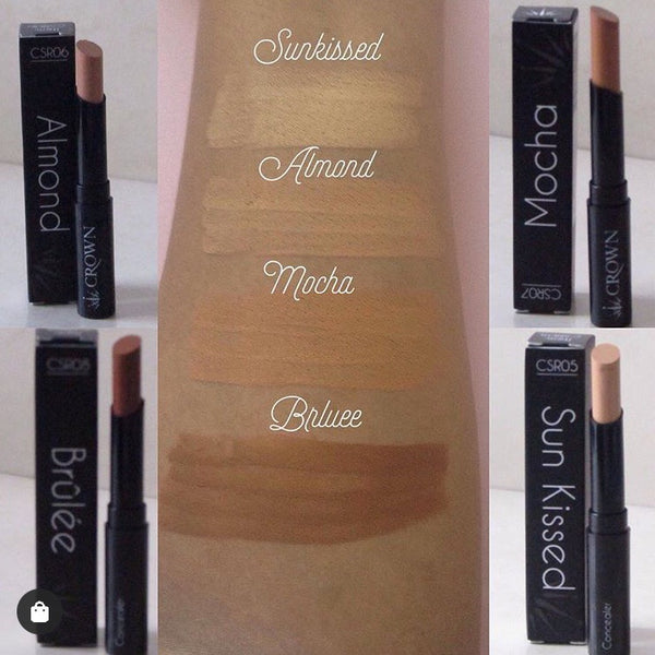 Almond Concealer - by Crown, Concealer  - MinorityBeauty