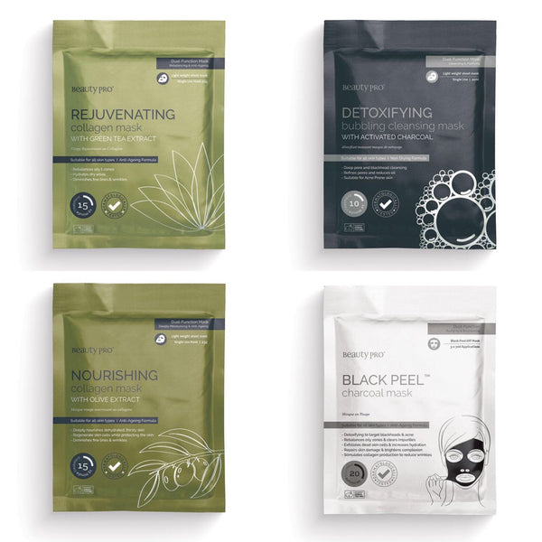 4 pack Facial Heaven, Facial Mask  - MinorityBeauty