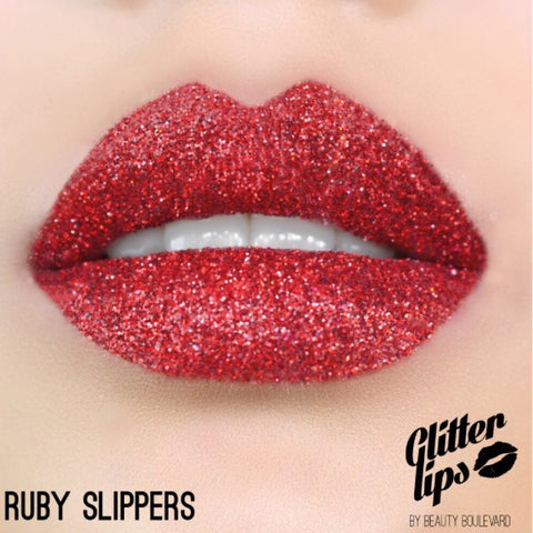 Glitter Lips - Ruby Slippers, Lipstick  - MinorityBeauty