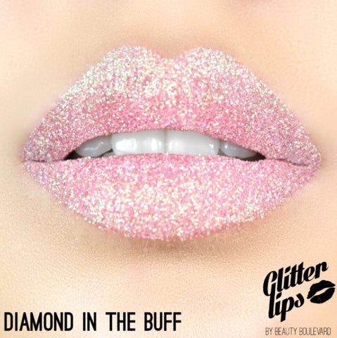 Glitter Lips - Diamond in the Buff, Lipstick  - MinorityBeauty
