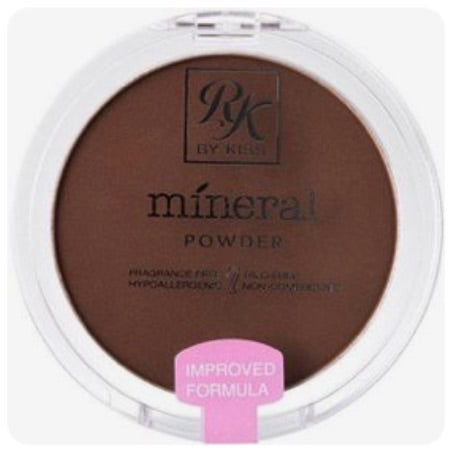 RK by Kiss Ebony Mineral Foundation, Foundation  - MinorityBeauty