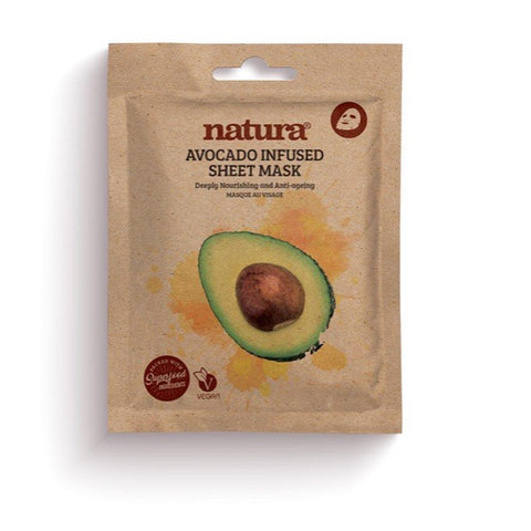 Duo Pack - Natura Avocado Facial Mask, Facial Mask  - MinorityBeauty