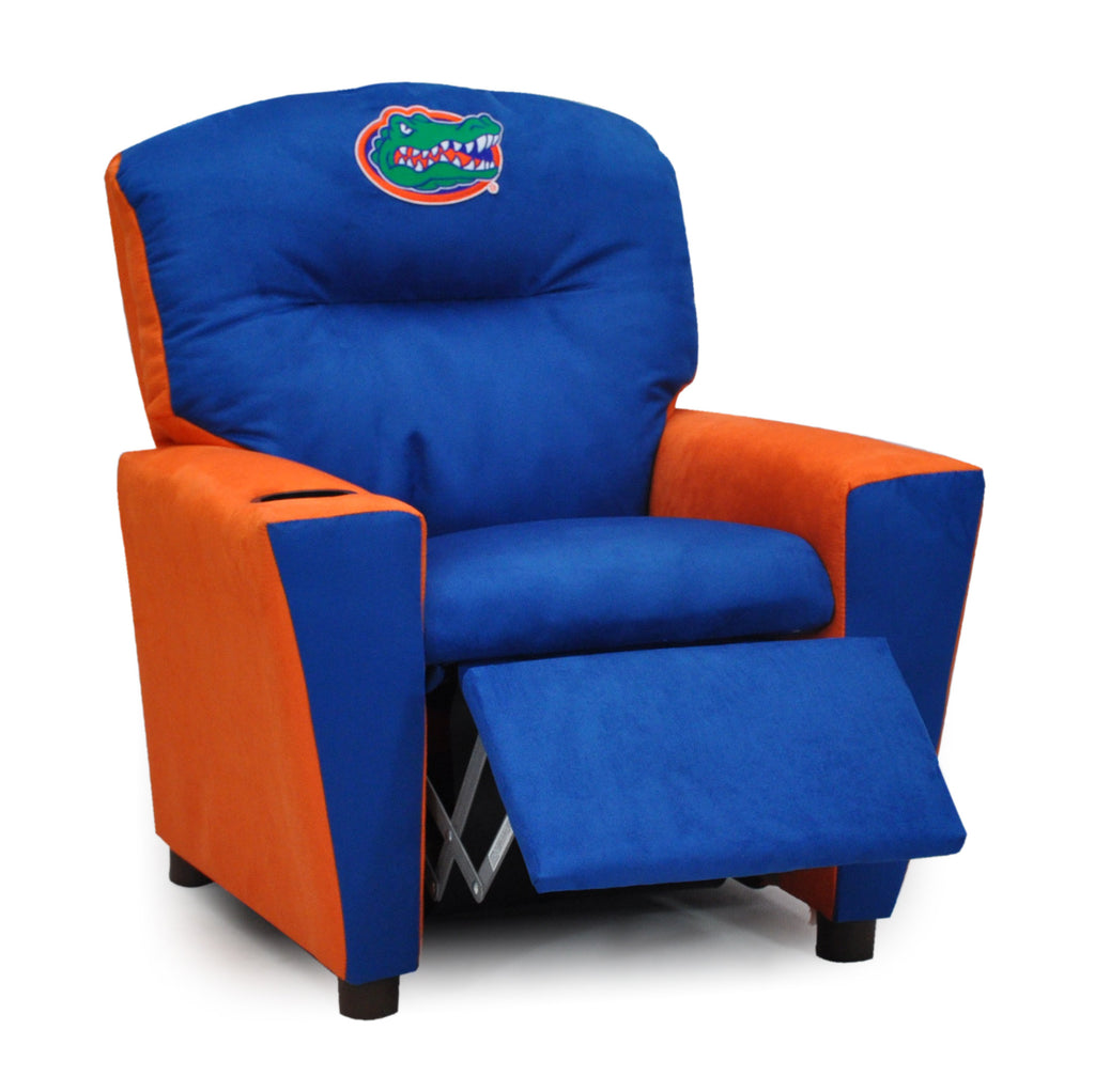 University of Florida Kid's Two-Tone Recliner With Cup Holder