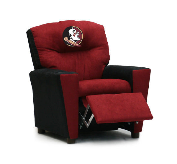 Florida State Kid's Two-Tone Recliner With Cup Holder