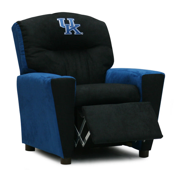 University of Kentucky Kid's Two-Tone Recliner With Cup Holder