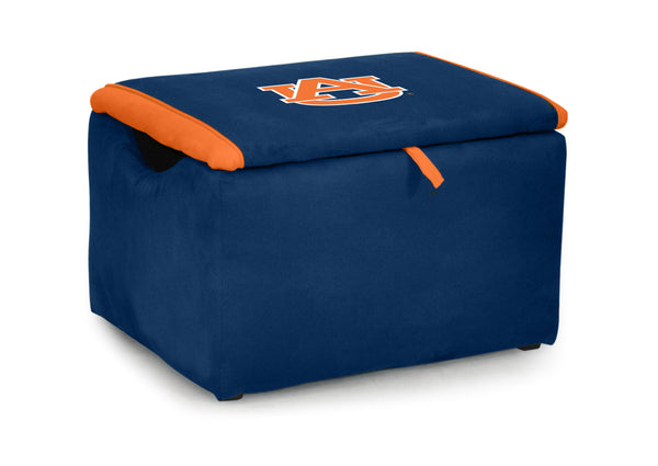 Auburn University Two-tone Storage Bench